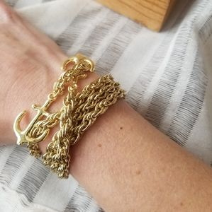 Anchor Multi-Way Bracelet & Necklace